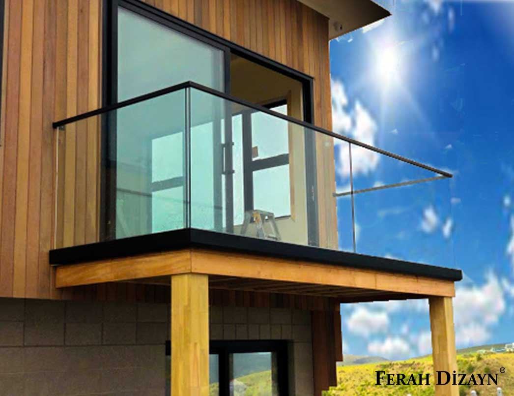 Cam Korkuluk Balkon İçin